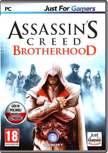 ASSASSIN'S CREED BROTHERHOOD - PL NOWA - NA PŁYCIE