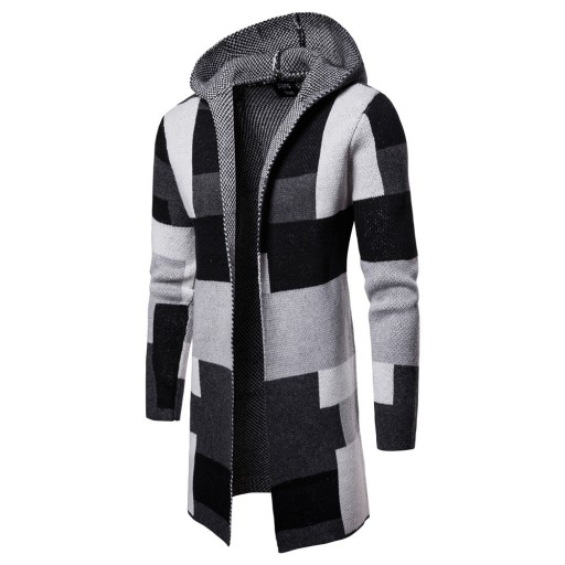 ianinowy sweter sweter męski trend Dzianina męska 9814376808 Odzież Męska Swetry HM NNMJHM-1