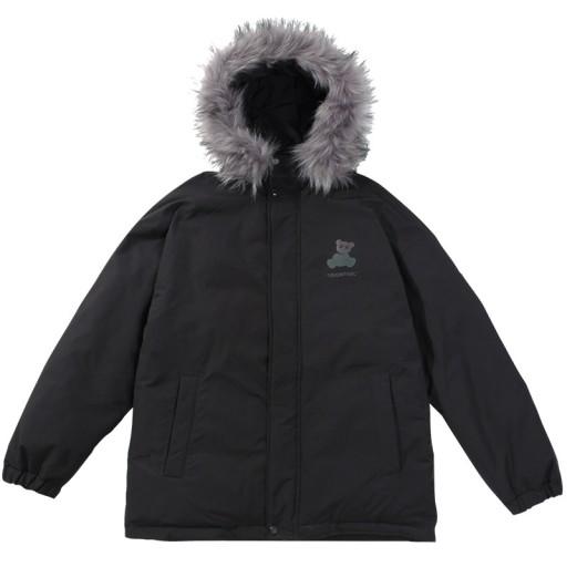 Zimowa gruba ocieplana kurtka z bawełny plus size 10005068387 Odzież Męska Okrycia wierzchnie BO TPXBBO-8