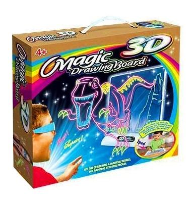 Magiczna Tablica 3d Do Rysowania Dla Dzieci Duza 9826655691 Allegro Pl