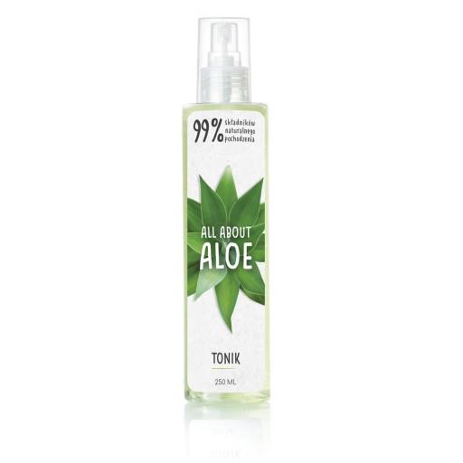 Aloesowy tonik do twarzy, All About Aloe