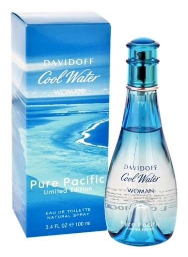 davidoff cool water woman pure pacific