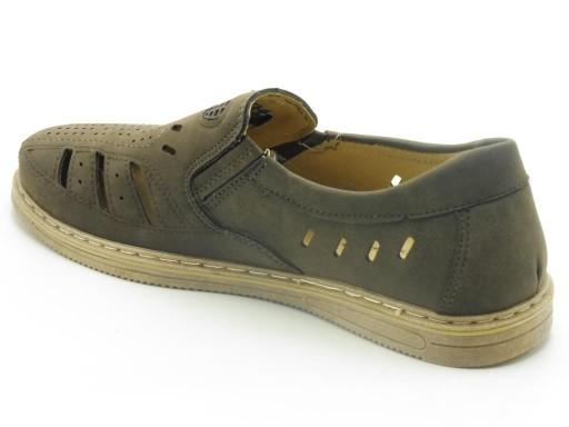 Sandały męskie 43 - WzÓr: P4/7007 brown 10759998538 Obuwie Męskie Męskie AL BWEHAL-1