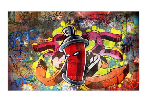 Fototapeta Do Salonu Graffiti Spray 450x270 9152642277 Allegro Pl