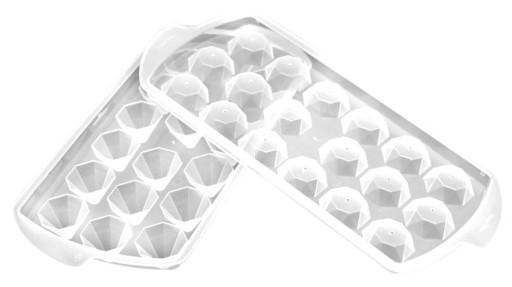 POJEMNIK DO KOSTEK LODU 18 szt lód diamenty