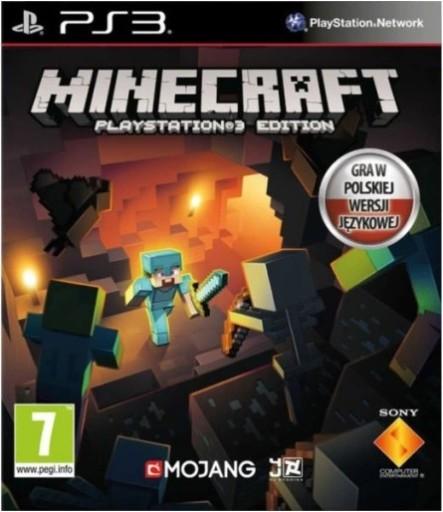 Minecraft Playstation 3 Edition Ps3 Pl Po Polsku Stan Nowy 9540118027 Allegro Pl