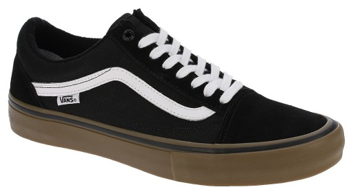 buty Vans Old Skool Pro BlackWhiteMedium Gum