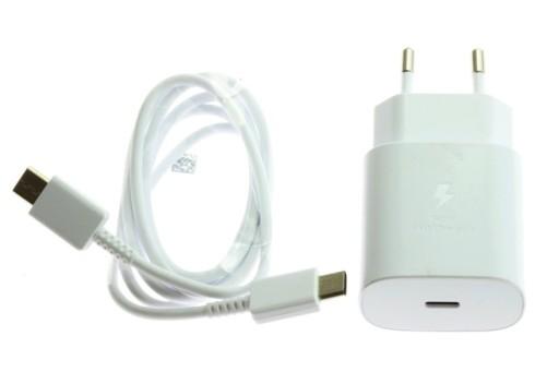 ORYGINALNA ŁADOWARKA SAMSUNG FAST 25W KABEL USB-C
