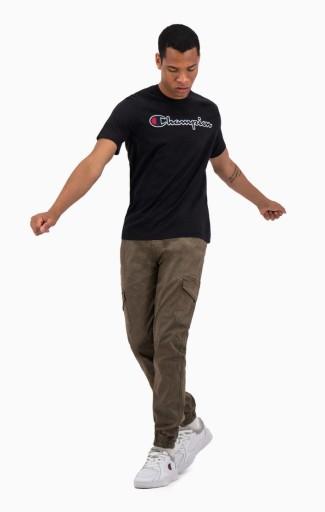 CHAMPION Koszulka SCRIPT LOGO / XXL 9884090173 Odzież Męska T-shirty DE GCCDDE-2