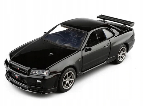 Model Nissan Skyline R34 Gtr Zabawka Auto 1 36 9702365866 Allegro Pl