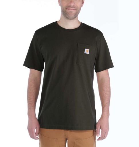 Koszulka Carhartt Workwear Pocket S/S Relaxed Fit 10458380061 Odzież Męska T-shirty EP QUEHEP-8