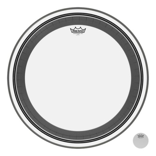 """Remo Bass Powerstroke Pro Clear 22"""""""