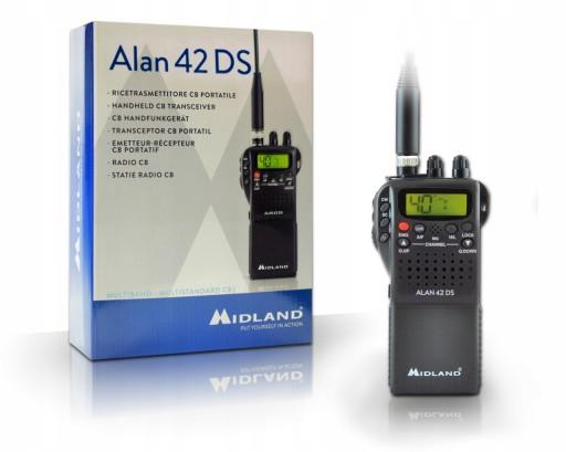 CB RADIO MIDLAND ALAN 42 DS