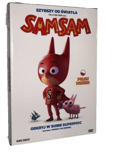 DVD - SAMSAM (2019) - nowa folia, polski dubbing