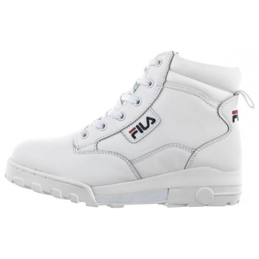 Buty Damskie Sportowe Fila Grunge II 1010741 Białe