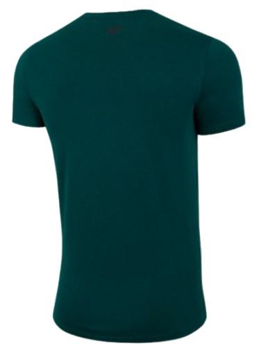 T-shirt męski 4F TSM011 bawełniany zieleń 3XL 10590926408 Odzież Męska T-shirty DS AWQODS-5