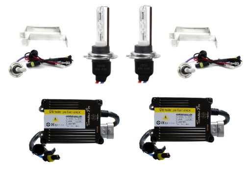 Zestaw HID 55W H7 H1 XENONY XENON CYFROWE CAN BUS