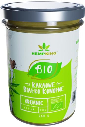 Białko konopne BIO dla wegan wegetarian 250g KAKA0