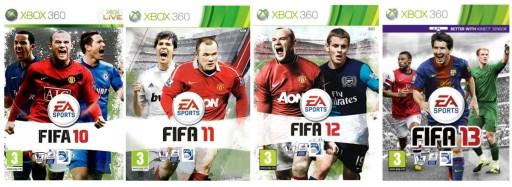 Zestaw Fifa 10 11 12 13 Xbox 360 Stan Uzywany 9165769835 Allegro Pl