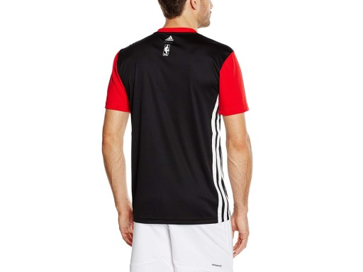 Męski T-shirt Adidas M38248 NBA Chicago Bulls XS 10463797825 Odzież Męska T-shirty XA RMMIXA-1