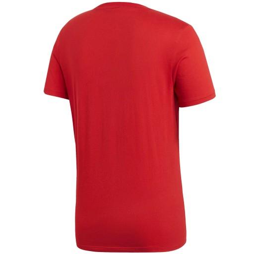 Koszulka adidas Core 18 Tee CV3982 czerwony XL! 10691689487 Odzież Męska T-shirty TN IDFVTN-5