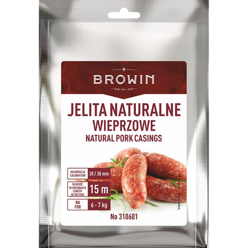 Jelita Wieprzowe Naturalne 30mm 15 Metrow Biowin 7098994264 Allegro Pl