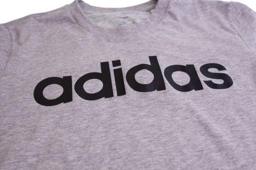 Koszulka męska Adidas Essentials Linear Tee DU0409 9801962109 Odzież Męska T-shirty CC IYQOCC-5