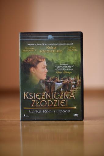 Księżniczka Złodziei Córka Robin Hooda Dvd 9264302729 Allegro Pl