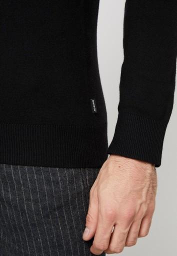JACK & JONES SWETER MĘSKI Z GOLFEM S 1BSE 10777242015 Odzież Męska Swetry EA WWYVEA-2