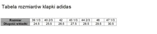 Adidas klapki męskie sportowe F35029 japonki 9196197400