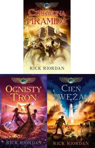 Rick Riordan - Kroniki rodu Kane [3 tomy] BEZ PUD
