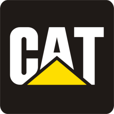 TRANSFERS CAT CATERPILLAR EXCAVATOR CHARGER 4 PCS