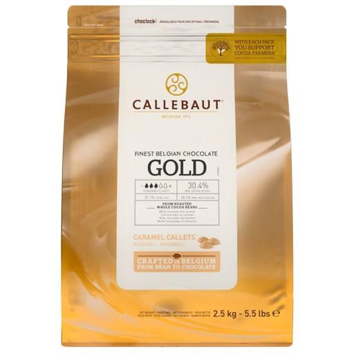 Callebaut Czekolada Biała słony karmel GOLD 2,5kg