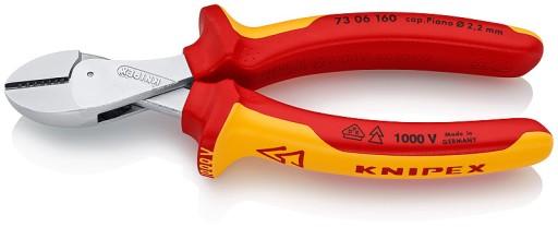 Knipex 73 06 160 X-Cut Kompaktowe szczypce tnące