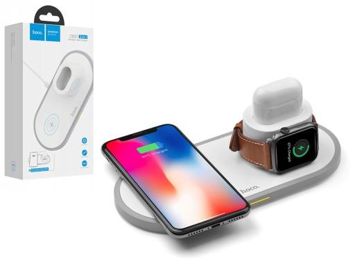 Ładowarka Qi HOCO 3w1 Apple iPhone Watch AirPods