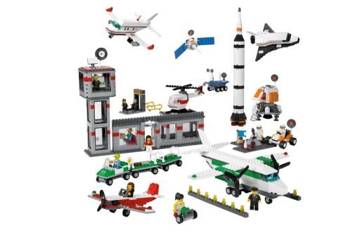 ZESTAW LEGO 9335 EDUCATION SPACE & AIRPORT SET