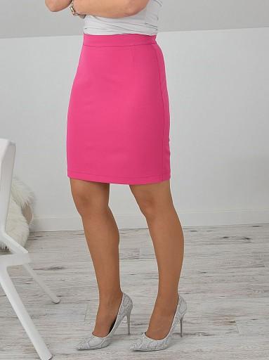 Prosta spódnica różowa M
