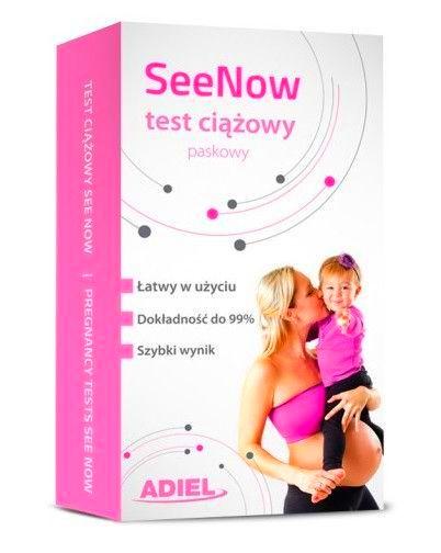 Seenow Test Ciazowy Paskowy 99 9 Super Czuly 9255205190 Allegro Pl