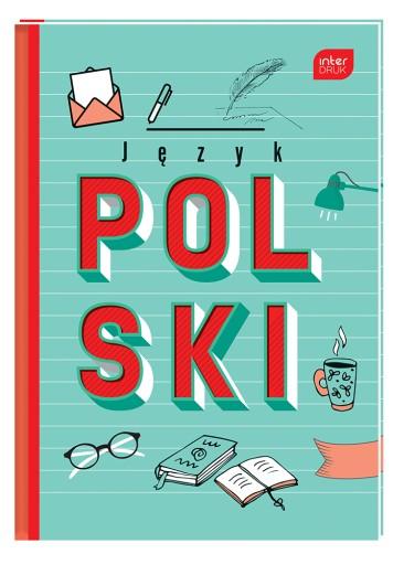 Brulion Jezyk Polski A5 80k Zeszyt Twarda Okladka 9401903553 Allegro Pl
