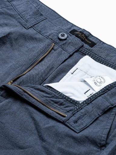 Spodnie męskie chino casual P892 granatowe XXL 9711497815 Odzież Męska Spodnie IC KOLKIC-1