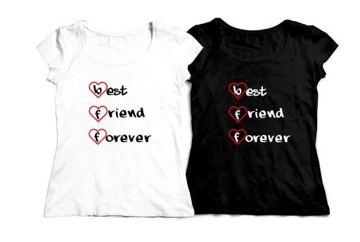 Koszulki Dla Przyjaciolek Best Friends Forever Bff 9118280802 Allegro Pl