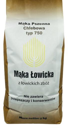 Mąka na CHLEB PROSTO Z MŁYNA pszenna typ 750 5kg