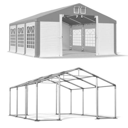 4x6m Namiot ogrodowy wzmocnienie dachu trudnopalny