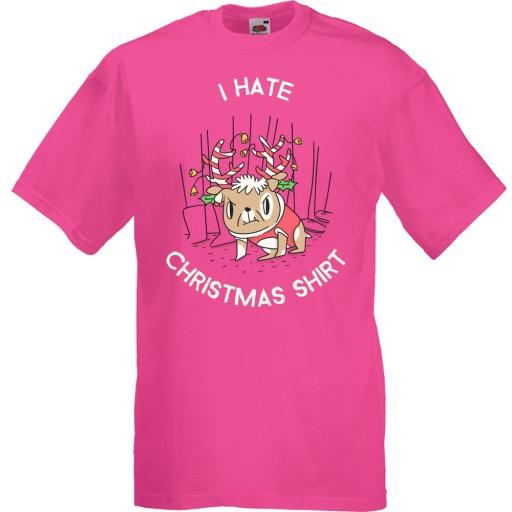 Koszulka święta pies nienawidzę świąt XXL 10511440594 Odzież Męska T-shirty IV GNKCIV-9