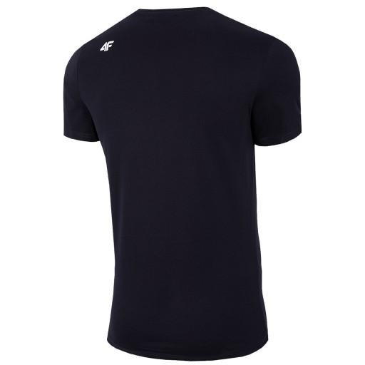 KOSZULKA BAWEŁNIANA MĘSKA T-SHIRT 4F TSM028 r. XL 9128468765 Odzież Męska T-shirty HN LVNWHN-1
