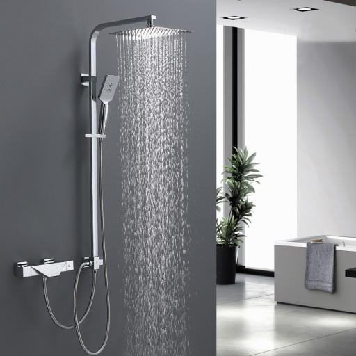 Prysznic Termostatyczny z Kranem Wannowym