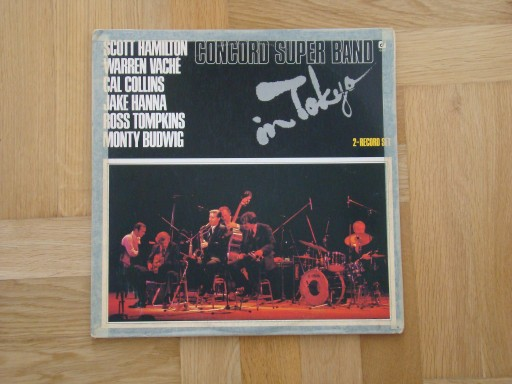 CONCORD SUPER BAND - IN TOKYO. 2 LP. WYD USA