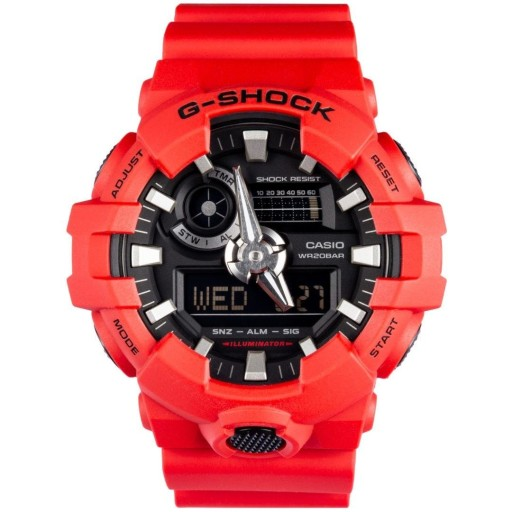 ORYGINALNY ZEGAREK CASIO G-SHOCK GA-700-4A WR200