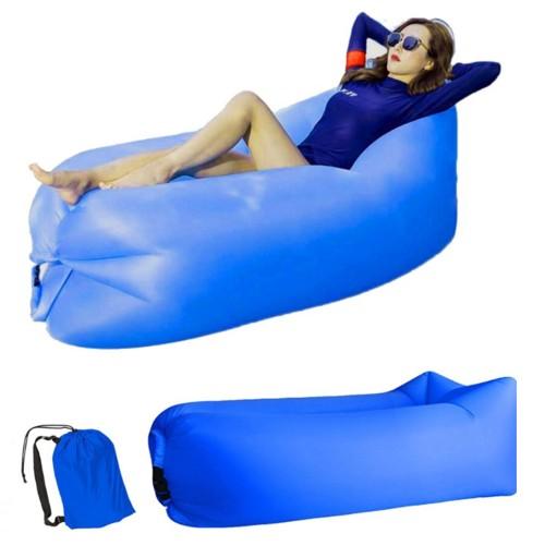 Lazy Bag Sofa Materac Lezak Na Powietrze Xxl Pokr 9520568499 Allegro Pl