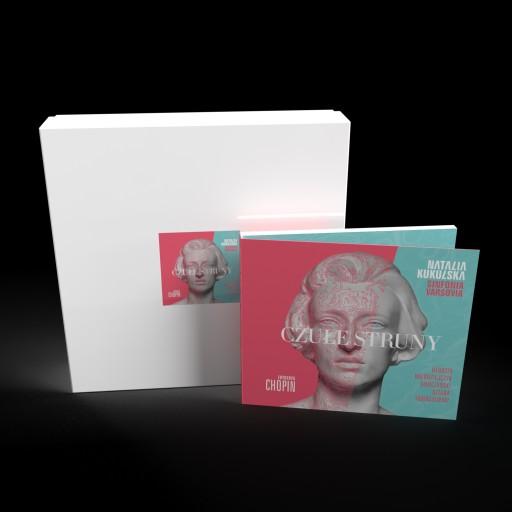 """Czułe struny"" CD autograf + pudełko"